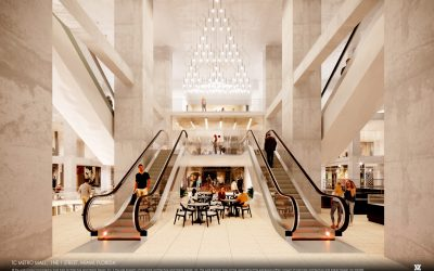 CONSTRUCTION UNDERWAY AT METRO MALL IN DOWNTOWN MIAMI: PLANS REVEALED FOR MULTI-LEVEL JEWELRY CENTER