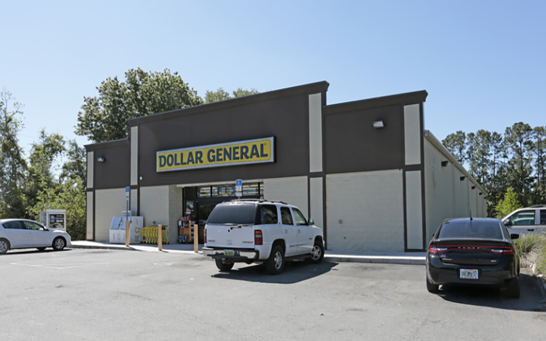 Dollar General Triple Net (NNN) Commercial Property Palatka Florida